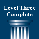 Level 3 Complete - Individual