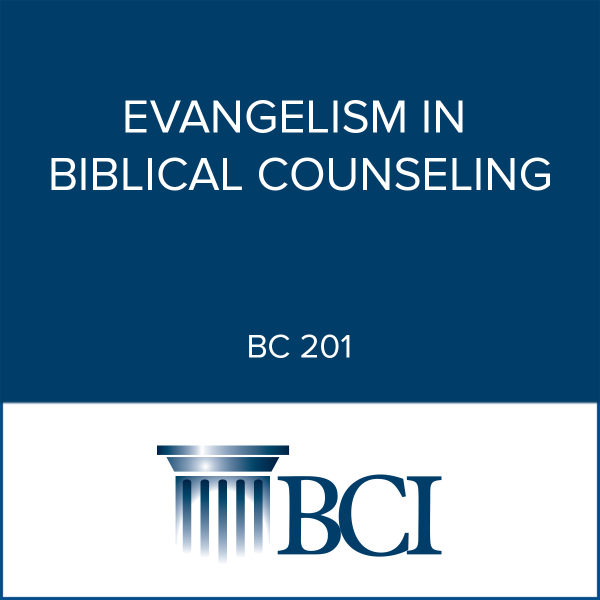 Evangelism in Biblical Counseling