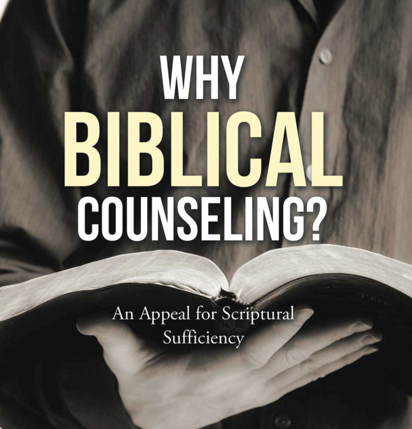 why biblical counseling book cover